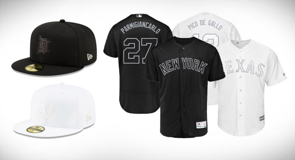jersey and hats